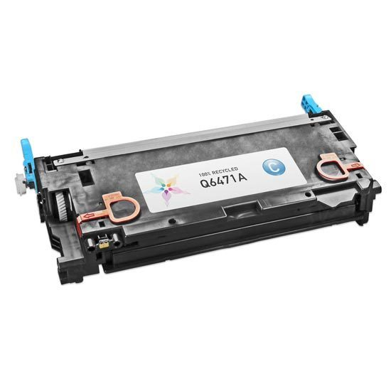 Remanufactured Replacement Cyan Laser Toner for HP 502A