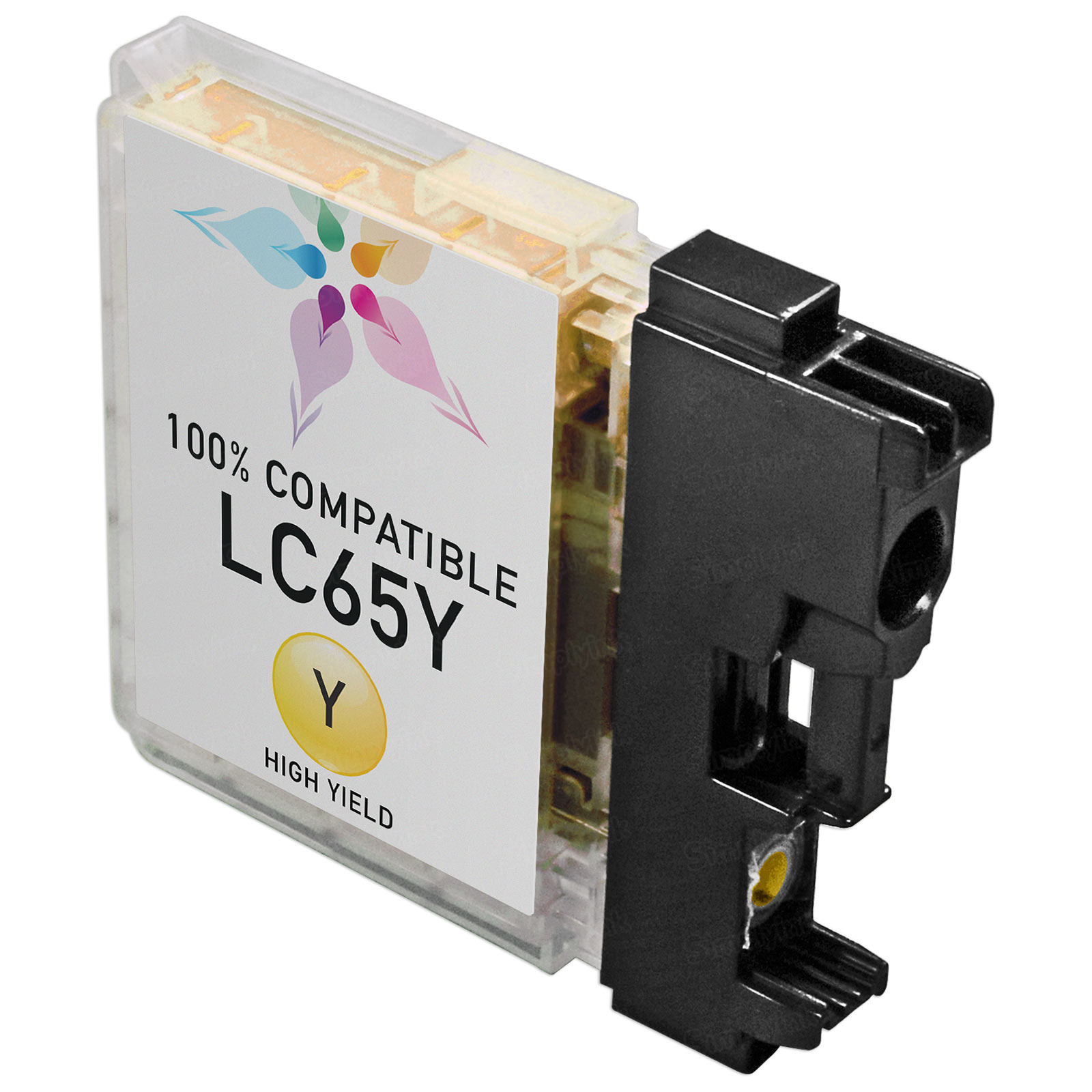 Brother Compatible LC65Y High Yield Yellow Ink