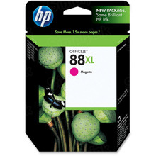 Original HP 88XL Magenta Ink Cartridge in Retail Packaging (C9392AN) High-Yield