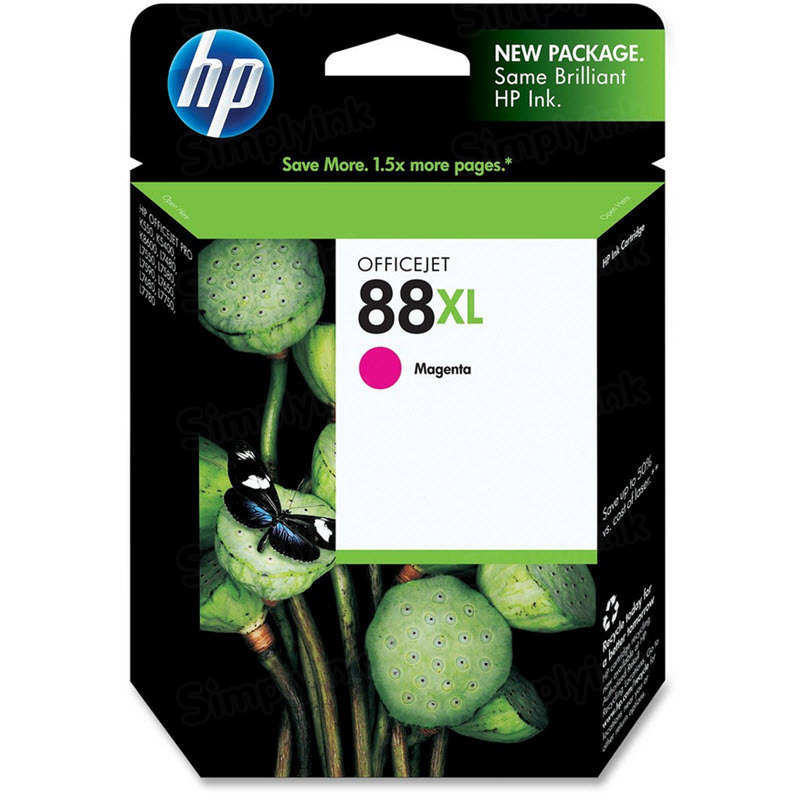 HP 88XL Magenta Original Ink Cartridge C9392AN