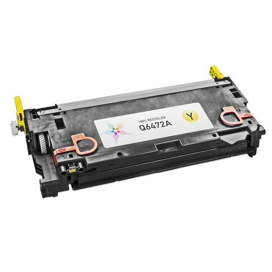 Remanufactured Replacement Yellow Laser Toner for HP 502A