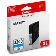 OEM 9268B001 (PGI-2200XL) Canon High-Yield Cyan Ink Cartridge