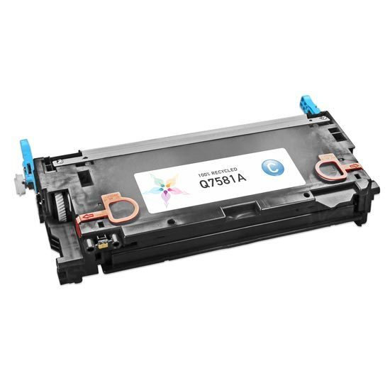 Remanufactured Replacement Cyan Laser Toner for HP 503A