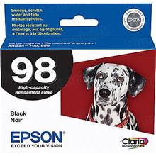 Original Epson 98 Black Inkjet Cartridge (T098120), High-Capacity