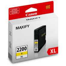 OEM 9270B001 (PGI-2200XL) Canon High-Yield Yellow Ink Cartridge