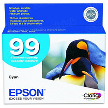 Original Epson 99 Cyan Inkjet Cartridge (T099220)
