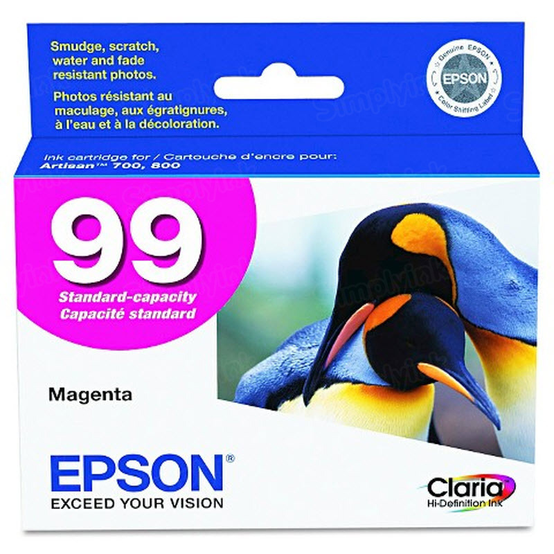 Epson 99 Magenta OEM Ink Cartridge (T099320)