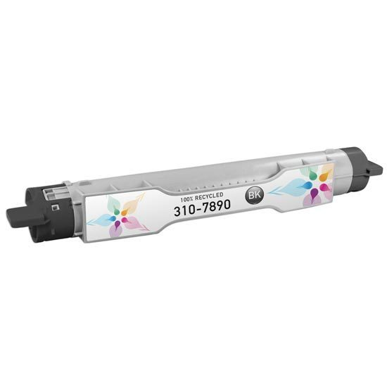 Refurbished Alternative for 310-7890 SY Black Toner for the Dell 5110cn