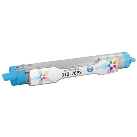Refurbished Alternative for 310-7892 SY Cyan Toner for the Dell 5110cn