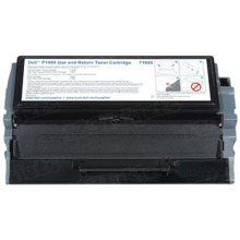Genuine Dell 7Y610 Black Toner for P1500 Laser Printers, 6K Yield - Use and Return