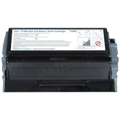 Genuine Dell P1500 (7Y610) Black Toner
