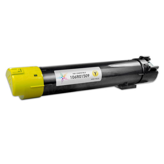 Compatible 106R01509 HY Yellow Toner for Xerox