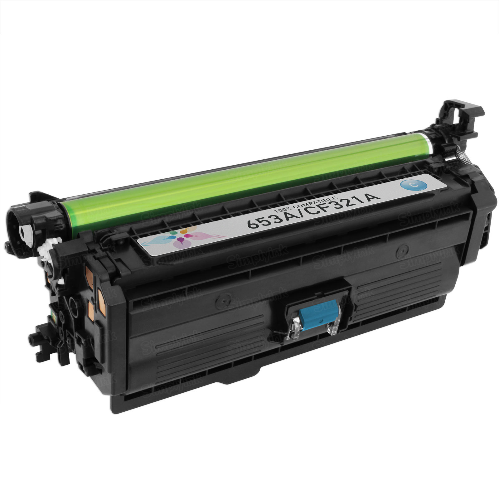 Compatible Brand Cyan Laser Toner for HP 653A