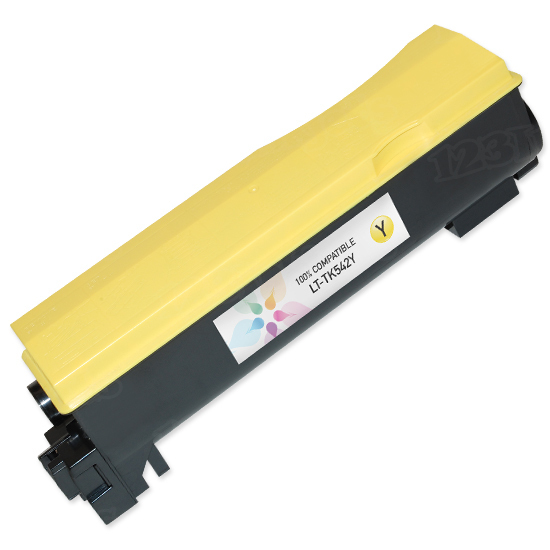 Kyocera Mita Compatible TK542 Yellow Toner Cartridge