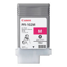 Canon PFI-102M Magenta OEM Ink Cartridge, 0897B001AA
