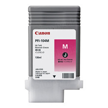 Canon PFI-104M Magenta OEM Ink Cartridge, 3631B001AA