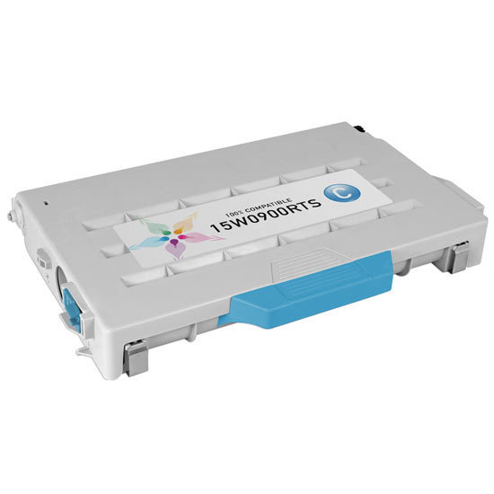 Remanufactured 15W0900 Cyan Toner for Lexmark