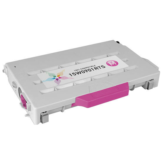 Remanufactured 15W0901 Magenta Toner for Lexmark
