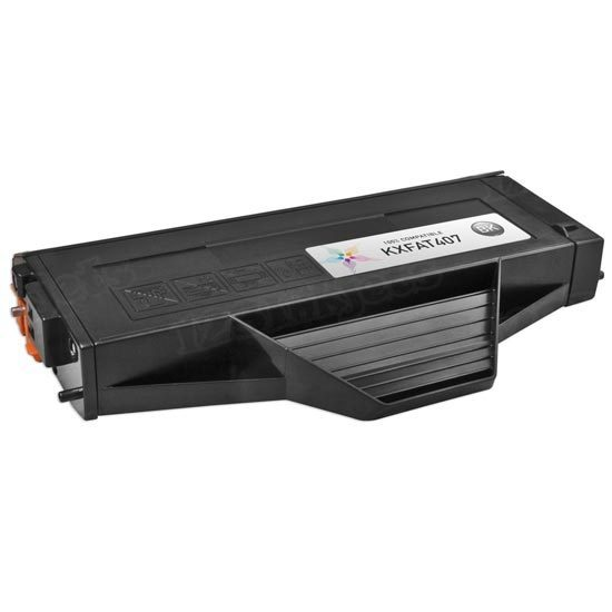Compatible KX-FAT407 Black Toner Cartridge for Panasonic