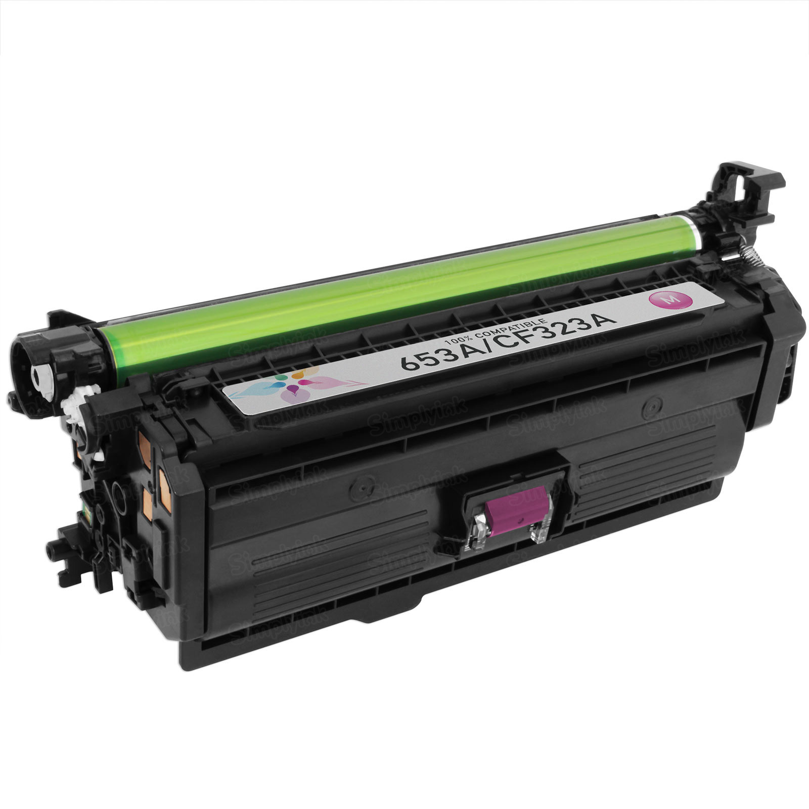 Compatible Brand Magenta Laser Toner for HP 653A