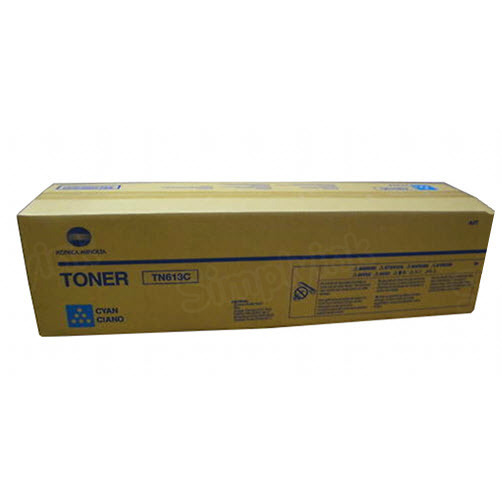 TN-613C Cyan Toner for Konica Minolta