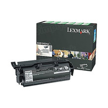 Lexmark OEM High Yield Black Return Program Laser Toner Cartridge, X651H04A (25K Page Yield)