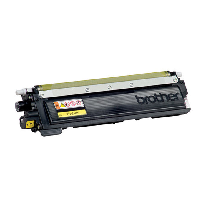 OEM Brother TN210Y Yellow Toner Cartridge