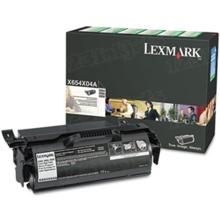Lexmark OEM Extra High Yield Black Return Program Laser Toner Cartridge, X654X04A (X654/X656/X658 Series) (36K Page Yield)