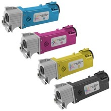 Compatible Xerox High-Yield 4-Pack Laser Toner Cartridge Set for the Phaser 6500/WorkCentre 6505