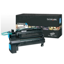 Lexmark OEM Extra High Yield Cyan Laser Toner Cartridge, X792X2CG (X792 Series) (20K Page Yield)