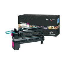Lexmark OEM Extra High Yield Magenta Laser Toner Cartridge, X792X2MG (X792 Series) (20K Page Yield)