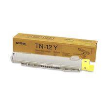 Brother OEM Yellow TN12Y Toner Cartridge