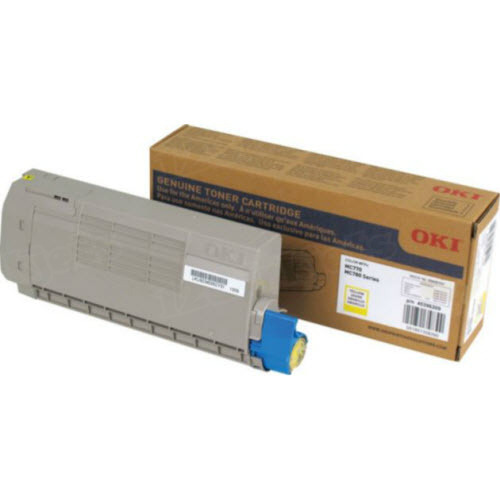 OEM Okidata 45396209 Yellow Toner Cartridge