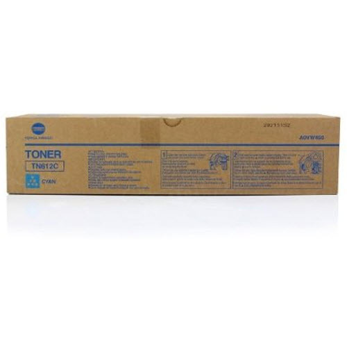 TN612C Cyan Toner for Konica Minolta