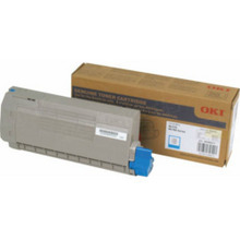 Okidata OEM Cyan 45396211 Toner Cartridge 11.5K Page Yield