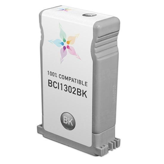 Canon Compatible BCI1302BK Black Ink for imagePROGRAF W2200