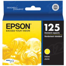 Epson 125 Yellow OEM Ink Cartridge (T125420)
