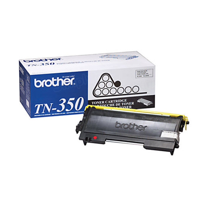 OEM Brother TN350 Black Toner Cartridge