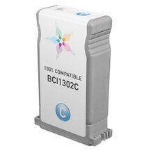 Compatible Canon BCI1302C Cyan Ink Cartridges for the imagePROGRAF W2200