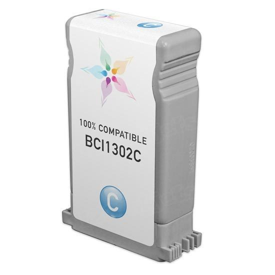 Canon Compatible BCI1302C Cyan Ink for imagePROGRAF W2200