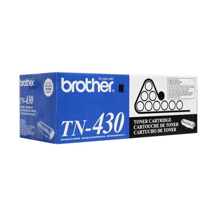 OEM Brother TN430 Black Toner Cartridge