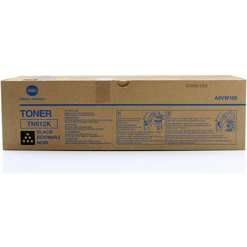 TN-612K Black Toner for Konica Minolta