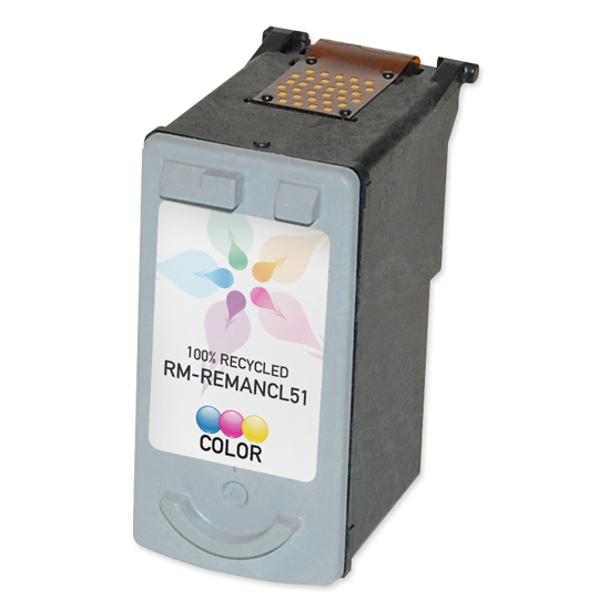 Canon Remanufactured CL-51 HC Color Ink