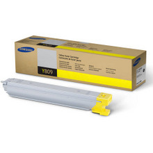 OEM Samsung CLT-Y809S Yellow Laser Toner Cartridge 15K Page Yield