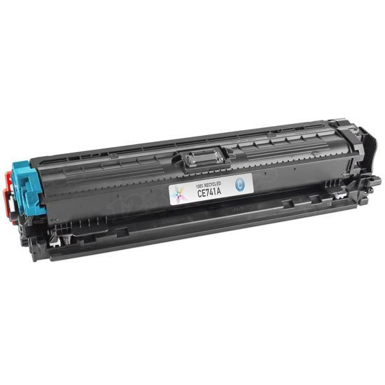 Remanufactured Replacement Cyan Laser Toner for HP 307A