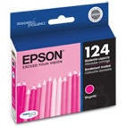 Epson 124 Magenta OEM Ink Cartridge (T124320)
