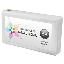 Remanufactured Replacement for Epson T676XL120 (676XL) High Yield Black Ink Cartridges