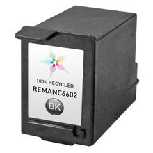 Remanufactured Replacement Ink Cartridge for Hewlett Packard C6602A Black