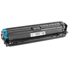 Remanufactured Replacement for HP CE271A (650A) Cyan Laser Toner Cartridge
