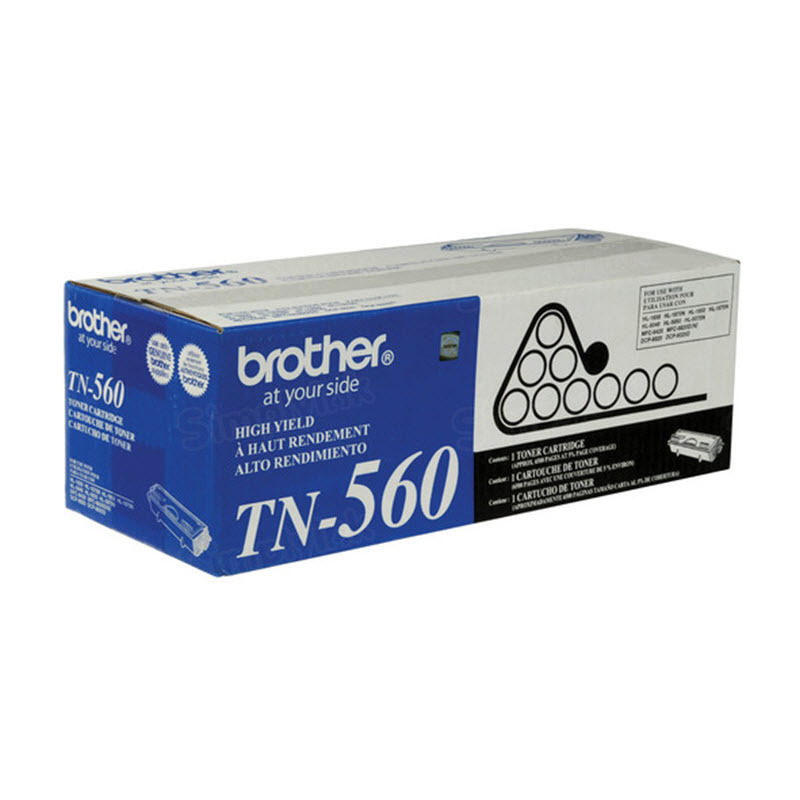 OEM Brother TN560 HY BlackLaser Toner